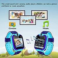 Reloj Inteligente para Juegos Infantiles con MP3 Player - [1GB Micro SD Incluido] Llamada de Pantalla táctil de 2 vías Juego de Alarma cámara Reloj Regalo ...