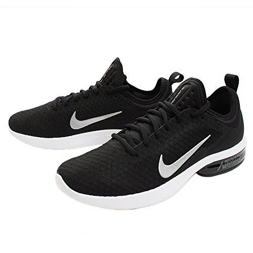 Nike Hombres Air Max Kantara, Negro / Plata Metálico Negro / Plata Metálica