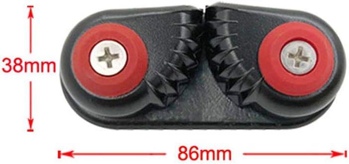 15mm H HILABEE 4pcs Taquets dAmarrage en Aluminium Materiel de Pont de Bateaux