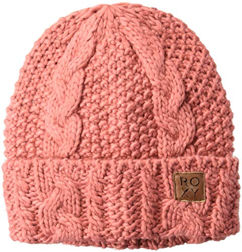 Roxy Snow Junior's Tram Snow Beanie, Dusty Cedar, 1SZ