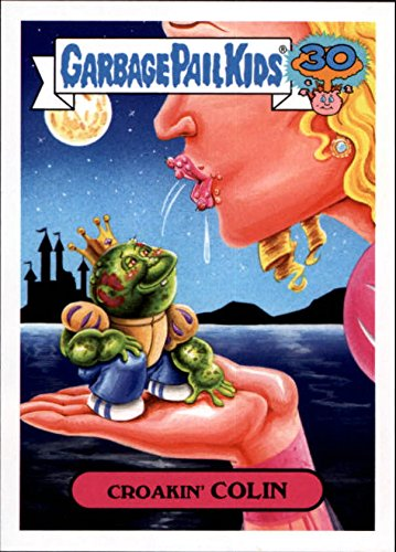 Pail Covers - 2015 Garbage Pail Kids 30th Anniversary Comic Book Covers #7b Croakin Colin