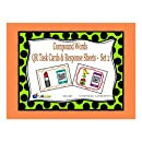 Compound Words QR Task Cards & Response Sheets - Set 2