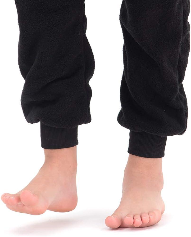 Beauty Shine Unisex Child Animal Black Penguin Costume Halloween Cosplay Pajamas