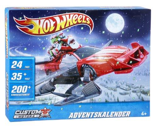 Weihnachtskalender Hot Wheels.Mattel X6545 Hot Wheels Advent Calender Amazon Ca Toys Games
