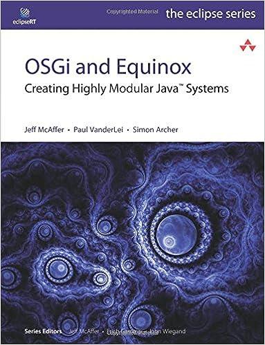 Osgi And Equinox Pdf