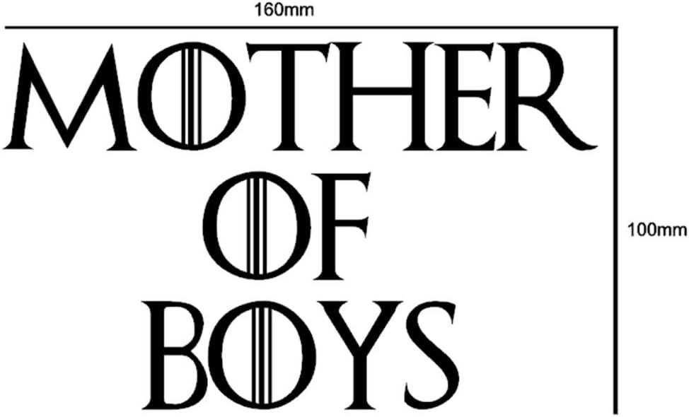 Memories That Stick Aufkleber Mother Of Boys Game Of Thrones Lustiger Auto Aufkleber Für Stoßstange Motorsport Jdm Euro Wohnwagen Cartoon Fahrrad Roller Neuheit Vinyl Auto