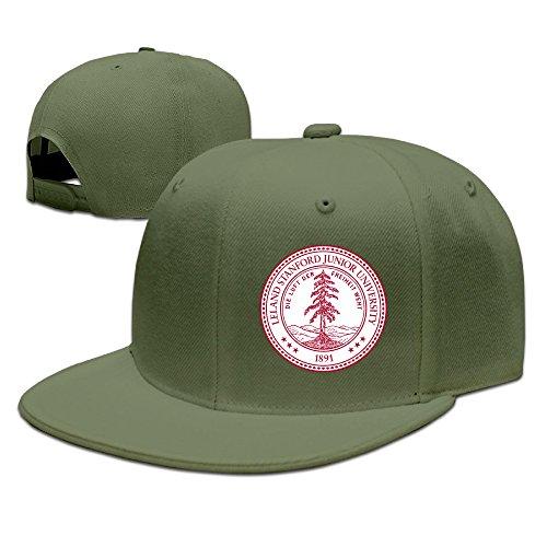 [SSEE Unisex-Adult Stanford University Flat Billed Baseball Cap Hat ForestGreen] (Dwayne Johnson Baby Costume)