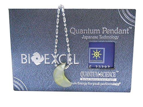 Bioexcel Agate Gemstones Handmade Necklace Half moon Cut SA1001 AGHM Green (Moon Agate)