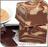 Mo's Fudge Factor, Chocolate Peanut Butter Fudge (1/2 Pound)