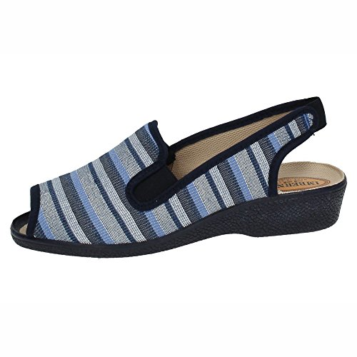 Sandales Femme Made Bleu In Spain Marine 2026 pRnwqgna