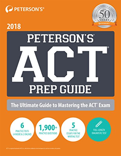 Peterson's ACT Prep Guide 2018