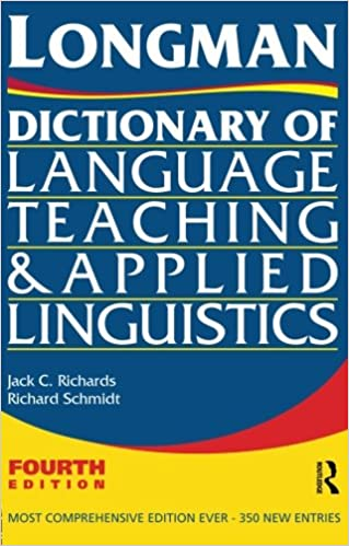 Longman Dictionary of Language Teaching and Applied Linguistics ...