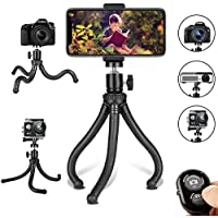 Phone Tripod, Flexible Cell Phone Tripod Adjustable...