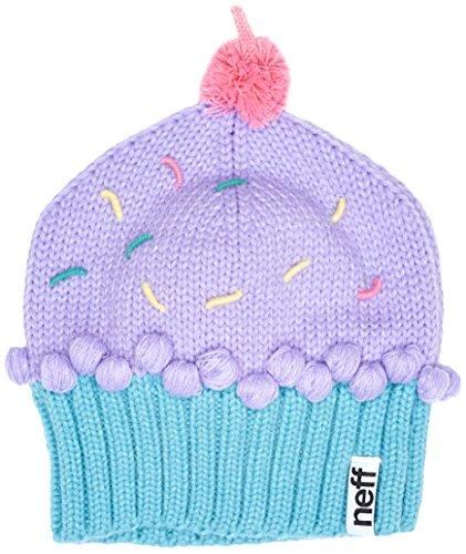 Neff Women's Cupcake Beanie Hat, Confetti, One Size