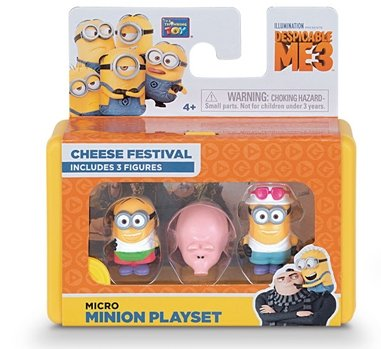 Despicable Me Micro Minion Playset Movie Figures ~NEW~