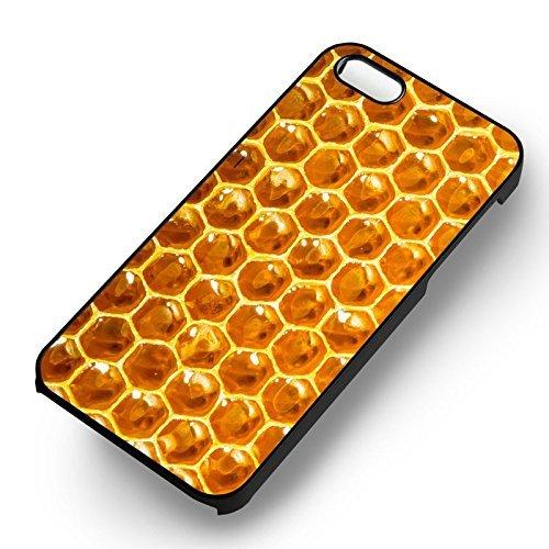 Beehive Honey pour Coque Iphone 6 et Coque Iphone 6s Case (Noir Boîtier en plastique dur) I5P2VS