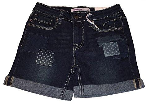 Vigoss Girls' Jean Short, Patchwork, Size 8 -