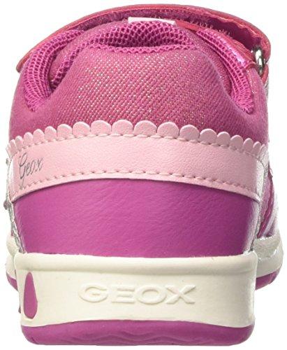 Geox B Teppei Girl B - Zapatillas de running Bebé-Niños Rosa - rosa (FUCHSIAC8002)