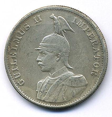 Moneda de 1893 colonias en alemán en África oriental de sociedad - 2 rupias Kaiser Wilhelm