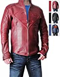 Superhero Adult Costume Jacket Collection For Halloween (M, Super Red)