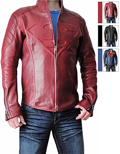 Super Red Hero Jacket for Man (L, Red)