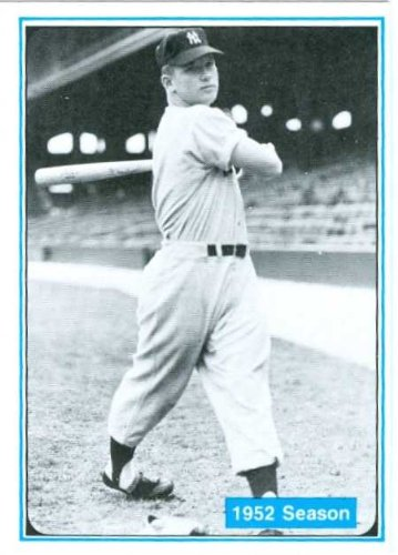 Autographed Mickey Mantle Baseball Cards image