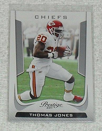 Football Jones Thomas Nfl (Thomas Jones 2011 Panini Prestige NFL Football Card # 100)