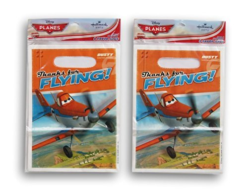 Party Supply - Planes - 16 Party Favor Loot Bags -