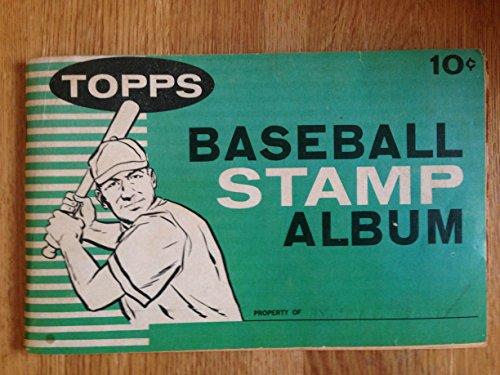 Topps Chewing Gum - 1961 TOPPS CHEWING GUM INC. TOPPS BASEBALL STAMP ALBUM NM