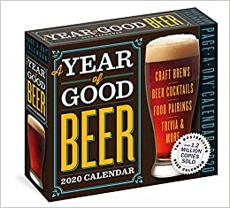 Beers List 2020.Year Of Good Beer Page A Day Calendar 2020 Amahl Turczyn