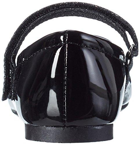 Indigo 424 080 - Bailarinas Niñas negro (negro Patent)