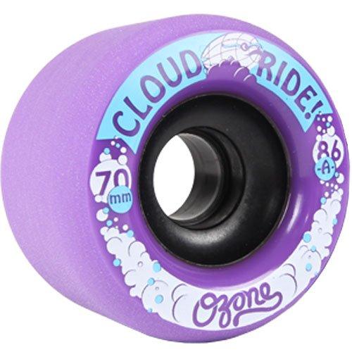 挑発する調子気味の悪いクラウドRideオゾンLongboard Wheels 70 mm 86 a
