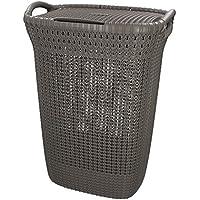 Curver 228410 - Cesta de ropa Knit, 57
