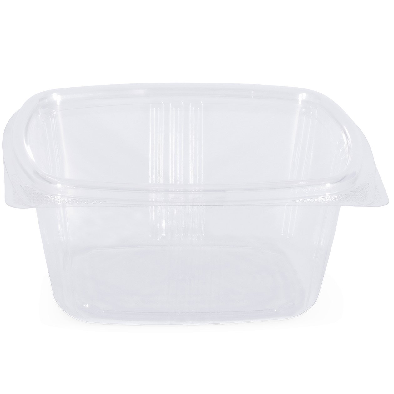 Simply Deliver 16 oz Hinged Lid Deli Container with