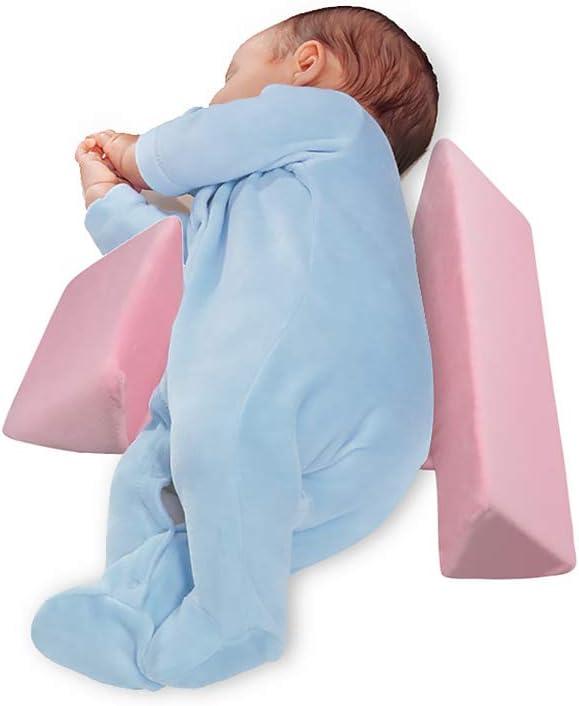 song rong Oreillers Sleeping Side b/éb/é M/émoire Coton Remplissage Dormant c/ôt/é Support r/églable pour b/éb/és Nouveau-n/és Oreiller Blanc