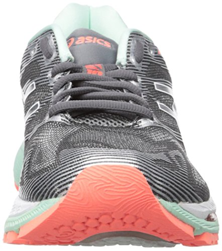 Asics Nimbus de 19 Flash Mujer Running Coral Blanco Carbon para Gel Zapatillas r5xHqwrI