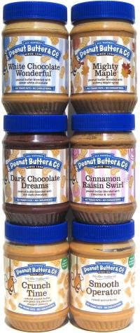 Peanut Butter & Co. Gourmet Peanut Butters, 16 oz. Jars