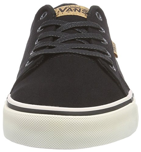 VansM BISHOP CORK - Zapatillas hombre negro - Schwarz ((Cork) black/white)