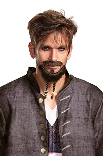 Unknown - Pirates Of The Caribbean 5 Goatee Mustache Adult - http://coolthings.us