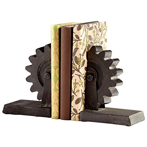 Cyan Design 05347 Gear Bookends