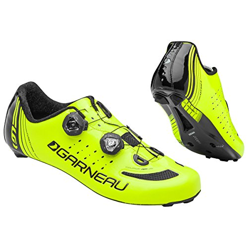 Louis Garneau Men's Course Air Lite Shoes - 45 EU, Bright Yellow