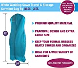 Bags for Less Wedding Gown Garment Bag