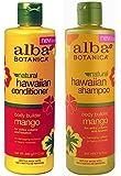 Alba Botanica, natural Hawaiian Shampoo and Conditioner, Mango, 12-Ounce Bottle