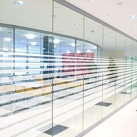 Casa Pro Sichtschutzfolie Fur Fenster Gestreift Statisch Haftend