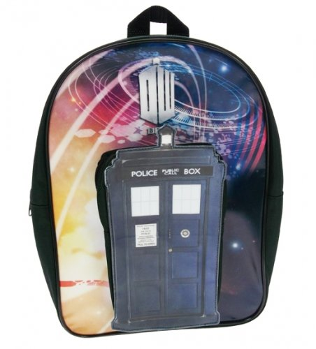 Doctor Who Tardis PVC 50th Anniversary Backpack