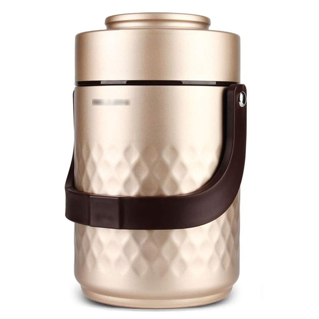 Fiambrera aislada, fiambrera aislada de gran capacidad aislada material de la categoría alimenticia del barril de gran capacidad aislada de múltiples capas ...