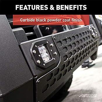 ARIES 2154000 AdvantEDGE Chrome Aluminum Truck Bull Bar 5-1//2 for Select Chevrolet Silverado GMC Sierra 1500