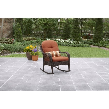 Outdoor Rocking Chair Azalea Ridge, Burnt Orange