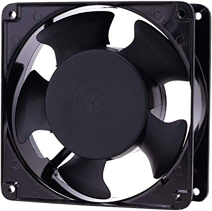 Axial Cooling Fan Computer System Ventilation Blower Cabinet Muffin 120V 4 Inch