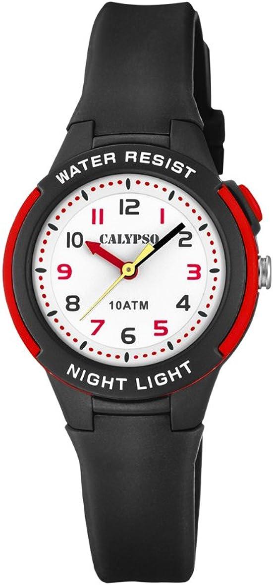 Calypso Reloj Analógico para Unisex Niños de Cuarzo con Correa en Plástico K6069/6